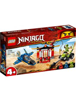 Конструктор LEGO Ninjago Бой на штормовом истребители 165 деталей (71703)