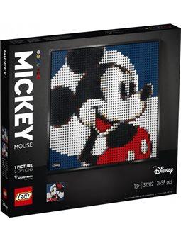 Конструктор LEGO Art Диснеевский Микки Маус 2658 деталей (31202)