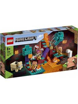 Конструктор LEGO Minecraft искажен лес 287 деталей (21168)