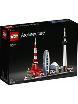 Конструктор LEGO Architecture Токио 547 деталей (21051)