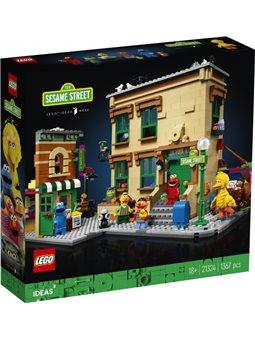 Конструктор LEGO Ideas Улица Сезам 123 1367 деталей (21324) (5702016819953)