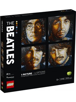Конструктор LEGO Art The Beatles 2933 детали (31198)
