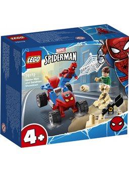 Конструктор LEGO Super Heroes Схватка Человека-паука и Песчаной Человека 45 деталей (76172)