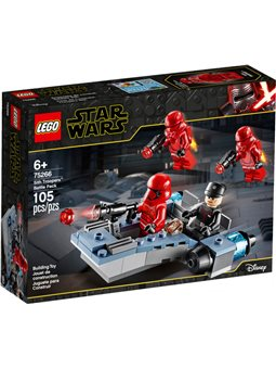 Конструктор LEGO Star Wars Боевой отряд ситхов-пехотинцев 105 деталей (75266)