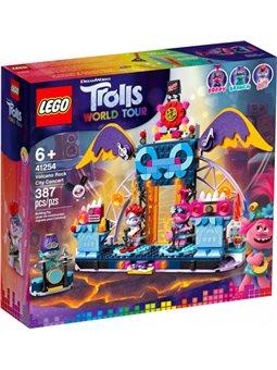 Конструктор LEGO Trolls Концерт в городе Рок-на-Вулкане 387 деталей (41254) (5702016616804)
