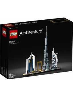 Конструктор LEGO Architecture Дубай 740 деталей (21052)
