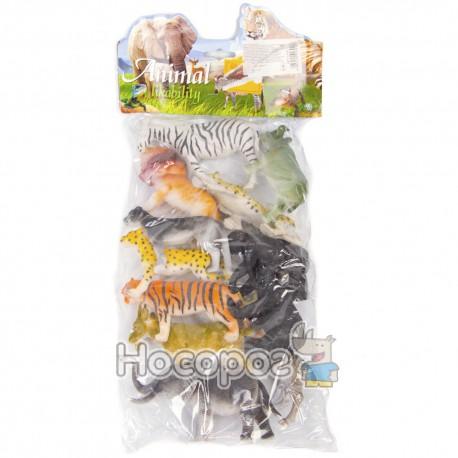 Набор диких животных 3118 (12 шт в кульке) (72)