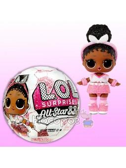 Игровой набор с куклой L.O.L. SURPRISE! серии All-Star B.B.s S3 ФУТБОЛИСТКИ (в ассортименте)