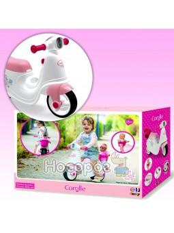 Скутер Королле с корзиной для куклы 721004