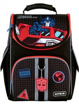 Рюкзак школьный Kite Education Transformers каркасный Черный (TF21-501S)