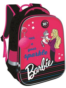 "Рюкзак YES YES H-100 ""Barbie"", чорний/малиновий 558785"