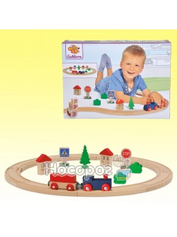 Игровой набор Eichhorn Железная дорога, длина 135 см 100001260