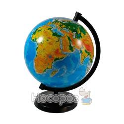 Глобус физический 16 см