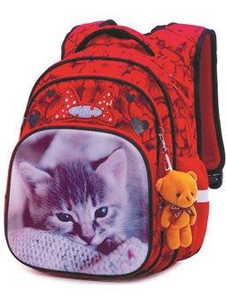 Ортопедический рюкзак для девочки Кот Winner