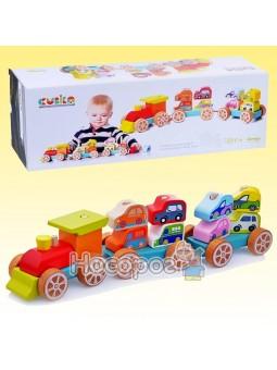 Поезд с машинками 13999