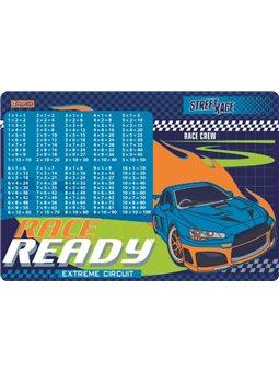 """Подкладка для стола 1 сентября детская """"Street race"""" (табл.умножения) 491863"""