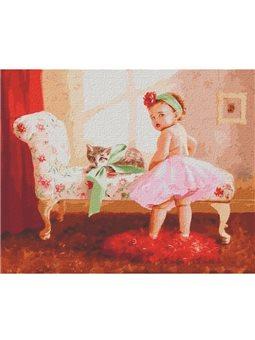 """Картины по номерам """"Подарок принцессе"""" Идейка (КНО2376)"""