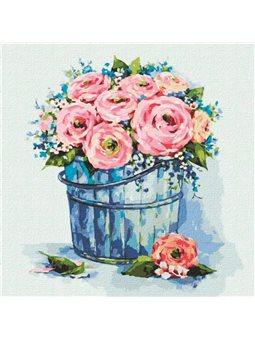 """Картины по номерам """"Букет элегантных роз"""" Иде"""