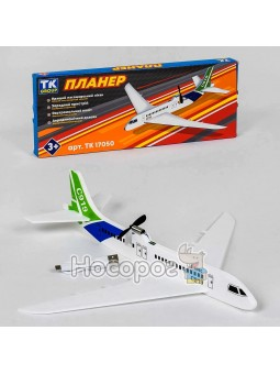 Самолёт Планер №17050 на аккумуляторе