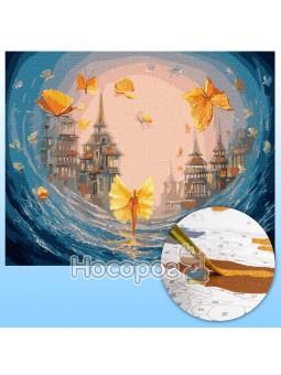 Набор для росписи по номерам Бабочки души КНО5026