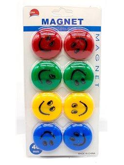 Магниты для доски, 8шт / уп, 40мм, N501-20-X-4008, Имп