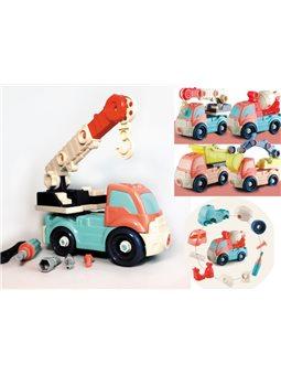 Машинки-конструкторы, пластик, арт. ВD601, в асс., Имп
