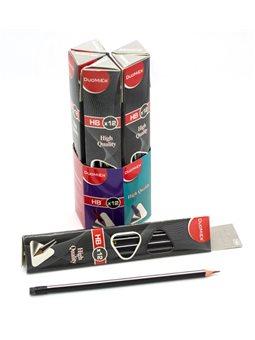 Карандаш графитный, треугольный, HB, Имп 070006
