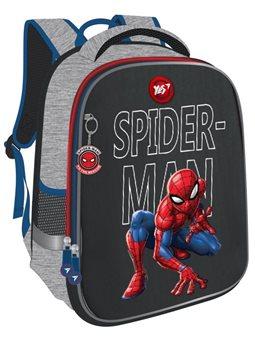 """Рюкзак школьный YES H-100 """"Spider-man"""", серый 558306"""