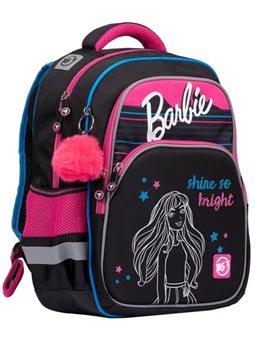 """Рюкзак школьный YES S-40 """"Barbie"""", черный / малиновый 558792"""