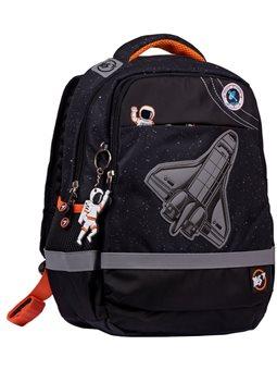 """Рюкзак школьный YES S-52 Ergo """"Explore the universe"""", черный 557955"""