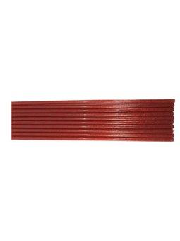 Клей для Термопистолеты цветной с глиттером 0,7-30 Красный 1232