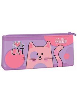 Пенал-косметичка силиконовый, Kidis, серия My Cat 13073