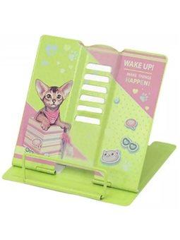 Подставка для книг металлическая полноцветная печать, Kidis, серия Kitty_Cat 13414