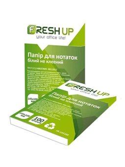 Бумага для заметок Fresh Up FR-145100 145х100х100мм не клееный белый 100708