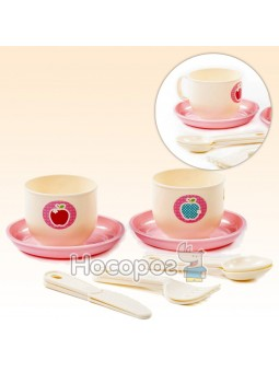 Набір дитячого посуду Хвилинка на 2 персони (10 елементів) 80301