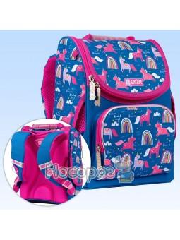 Рюкзак школьный каркасный SMART PG-11 Unicorn 556575