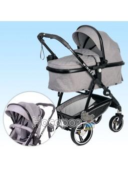 Детская универсальная коляска-трансформер Winger Light Grey 73556