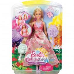 """Принцесса Barbie """"Магические волосы"""" DWH41"""