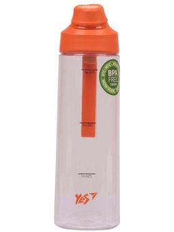 Бутылка для воды YES 850мл оранжевая