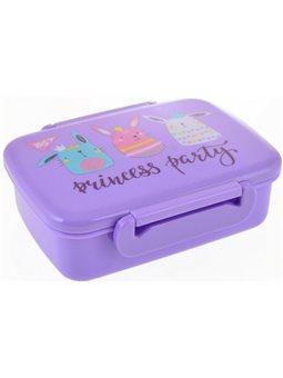 """Контейнер для еды YES """"Princess Party"""" 420 мл, с разделителем 706830"""