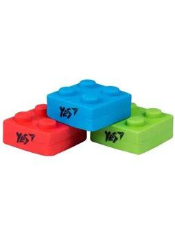 "Ластик фигурный YES ""Blocks"", 3 цв / Уп 560527"