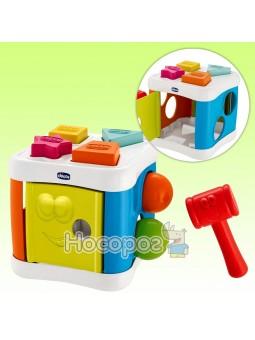Игрушка-сортер Куб 2 в 1
