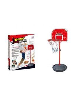 Детская баскетбольная стойка с кольцом XJ-E 00801 A(1) с мячом и насосом (высота 117 см)