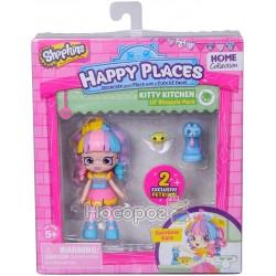 Кукла HAPPY PLACES S1 - ВЕСЕЛКОВА КЕЙТ (2 эксклюзивных петкинсы, подставка)