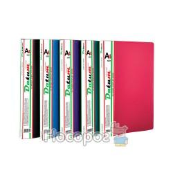 Папка с 20 файлами A4 D1820-03 бордовая