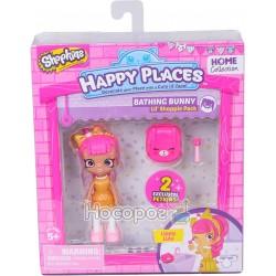 Лялька HAPPY PLACES S1 - ЛУЛУ ЛІППІ (2 ексклюзивних петкінси, підставка)