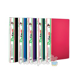 Папка с 20 файлами A4 D1820 зеленая