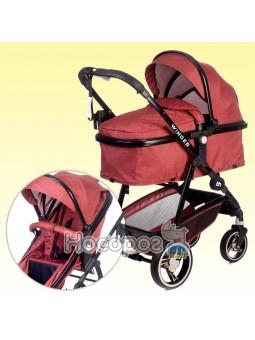Универсальная детская коляска-трансформер 2 в 1 Winger Red