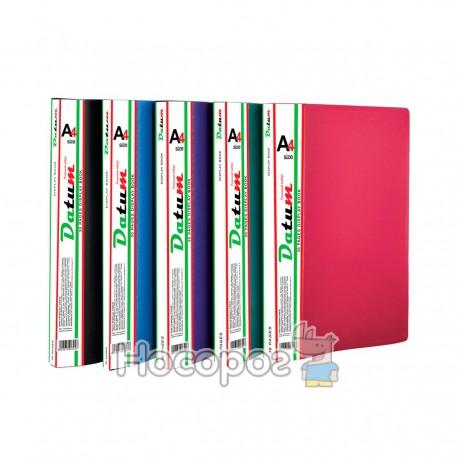 Папка с 40 файлами A4 D1840 зеленая