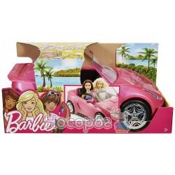 Блестящий кабриолет Barbie DVX59